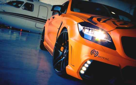 оранжевый, машины, авто
