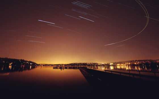 водоем, пейзаж, пейзажи -, звезды, noch, makro, пирс, огни, вечерний, zhivotnye, города, треки, miks,