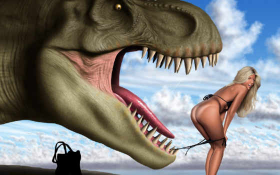 динозавры, коллекция, grafika