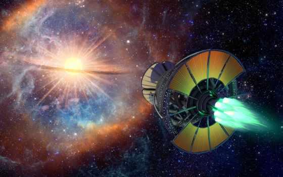 фэнтези, космос, корабли