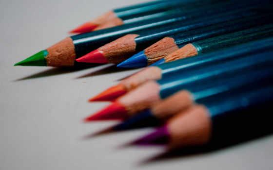 iphone, карандаши, pencils, pencil, цветные, colored, color, макро,