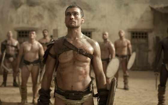 spartacus, serial, кровь, сниматься, рамочка, roman, гладиатор, uprising