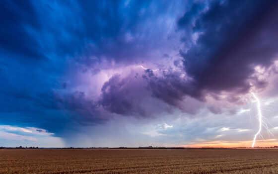lightning, semana, con, del, буря, облако, poco, escenario