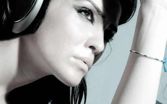 headphones, девушка, devushki