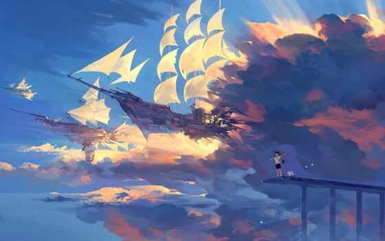 anime, scenery, landscape, pinterest, favorite, upload, также, awesome, ton