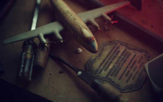 мастерская, инструменты, модель
