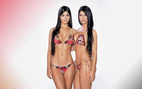 davalos, mariana, camila, more, twins, sexy,