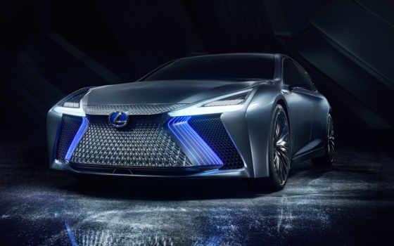 lexus, ls, concept, автосалоне, prototipo, нового, дизайном, со, curtain,