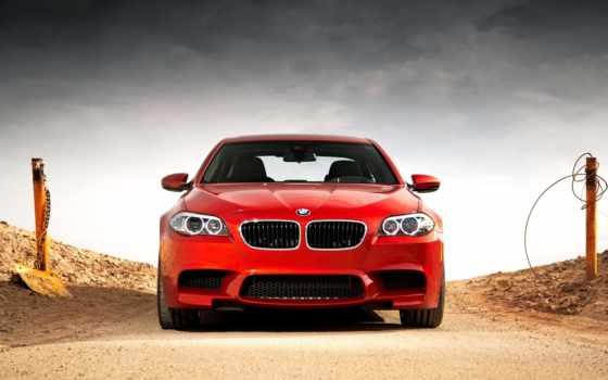 bmw, car, красный