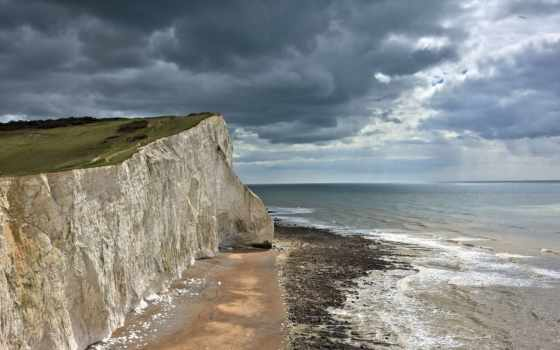 море, англия, seaford