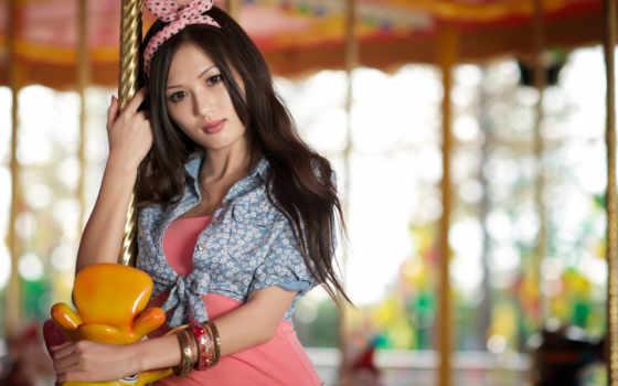 девушка,азиатка