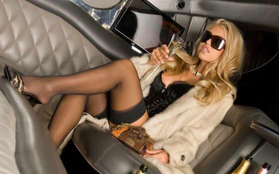car, hot, dawn, girl, very, anne, девушки, чулках, блондинка, красивая, чулки, гламур, очки, anette, ноги, авто, unbelievable, cool, бокал, шампанское, girls,