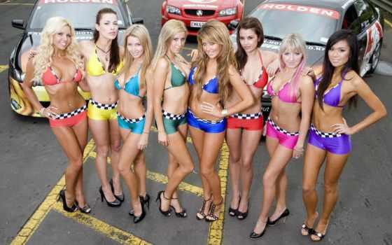 девушки, авто, girls