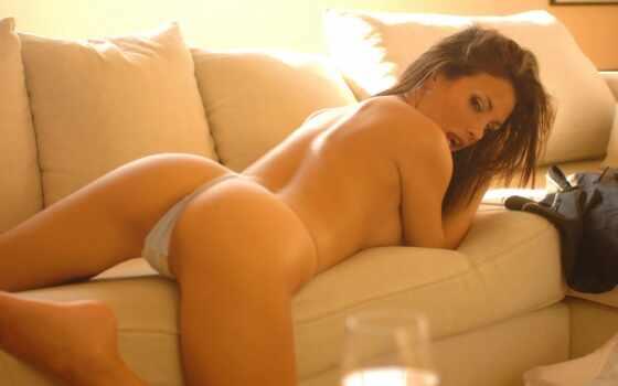 плакат, девушка, topless, взгляд, hot, print, sexy, size, девушек, rear, lady,