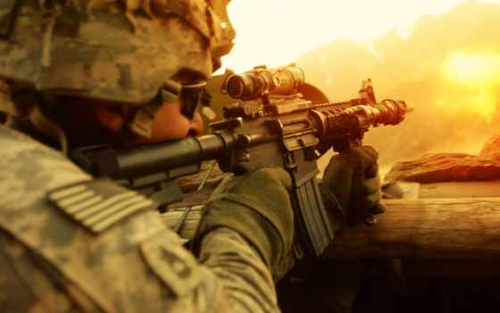 оружие, солдат, shootout, full, shot, usa, soldiers,