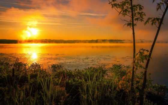 озеро, sun, туман, live, природа, природы, качества, fotoapple, красавица, тех,