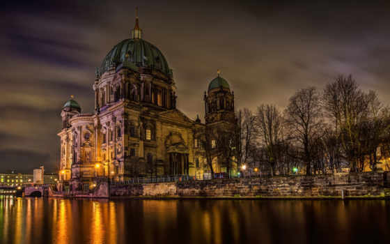 berlin, deutschland, германия, berliner, dom, german, spree, cathedral,
