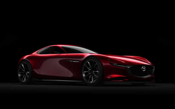 mazda, concept, vision, кар, роторным, двигателем,