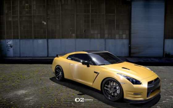 forged, nissan, wheels, gold, matte, цв, gtr, exterior,