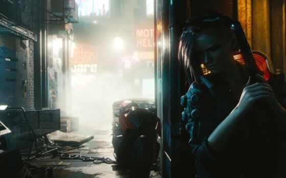 cyberpunk, город, trailer, который, game, exit