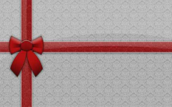 ribbon, gift, christmas