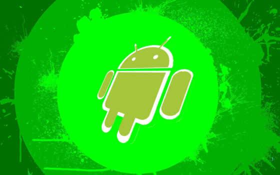android, зелёный, chldav