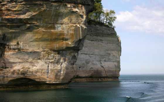 break, море, rock, картинка,