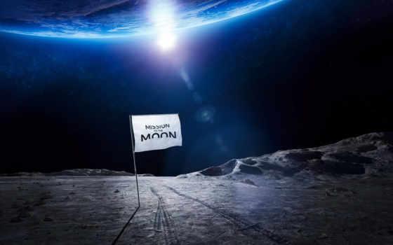 луна, миссия, ауди, далее, лунно, космос, rover,