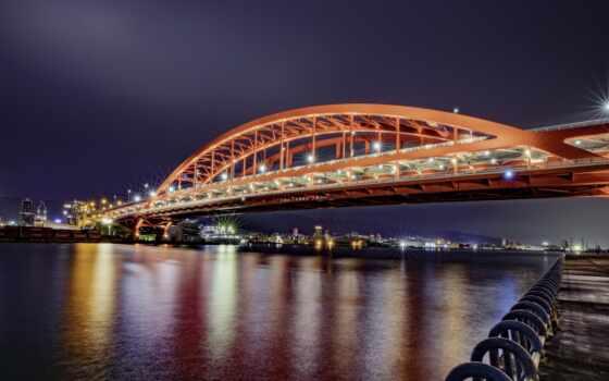 kobe, мост, park, япония, id