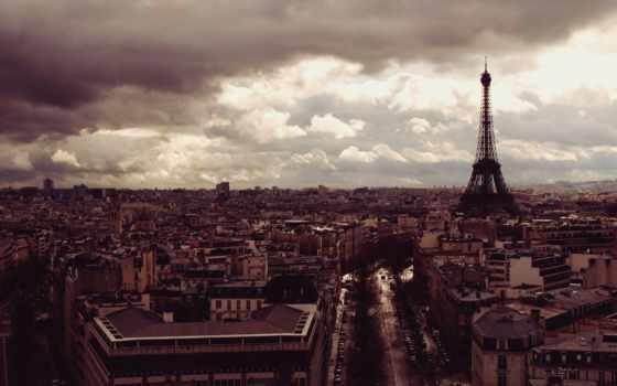 париж, башня, эйфелева