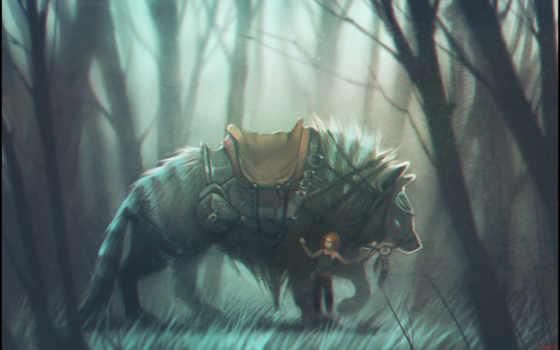 twitart, волк, gaudibuendia