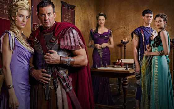 spartacus, кровь, песок, серия,