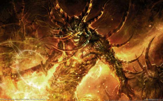демон, коллекции, демоны, огонь, card, art, яndex, коллекциях,