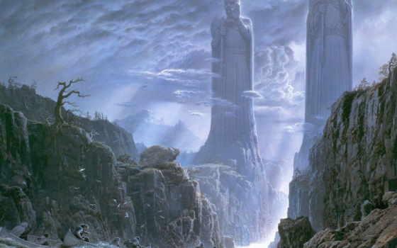 властелин, колец, толкина, иллюстрации, hobbit, daruma, tc, kings, был, tn, pillars,