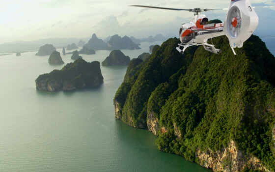helicopter, thailand