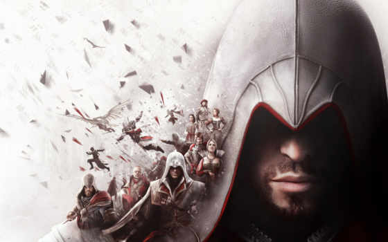 ezio, assassin, creed, коллекция, ubisoft, one, xbox, auditore, firenze,