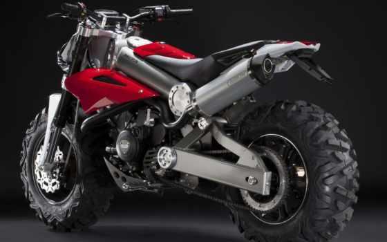 мотоцикл, brutus, внедорожник