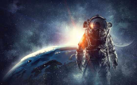 космонавт, скафандр, картинка, cosmic, ответить, девушка, песнь, космос, текст, pantalla, отличаться
