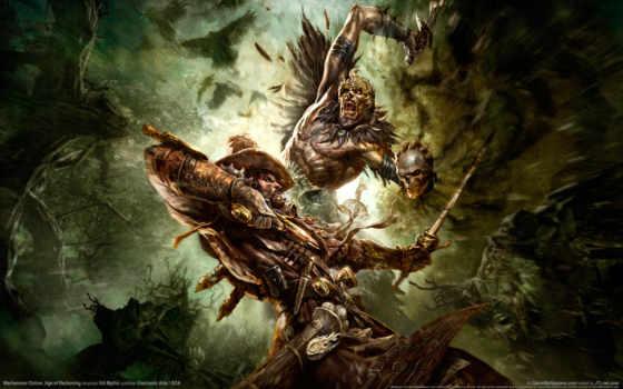 warhammer, череп