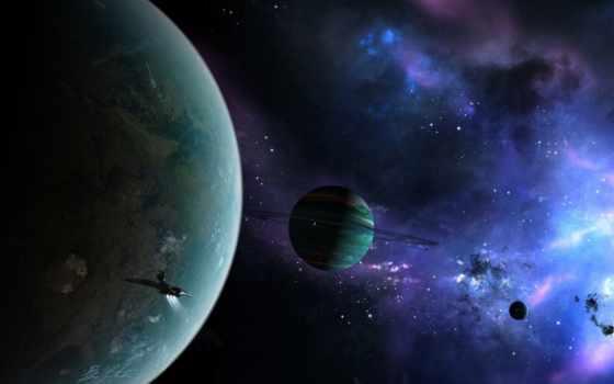 туманность, планеты