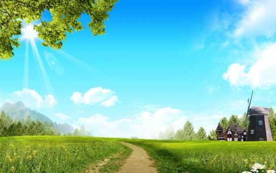 fondos, para, photoshop, paisajes, pantalla, con, escritorio, naturaleza, descripción, paisaje, gratis,