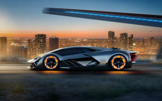 lamborghini, terzo, millennio, concept, суперкар, тысячелетия, третьего, prototype, создан,