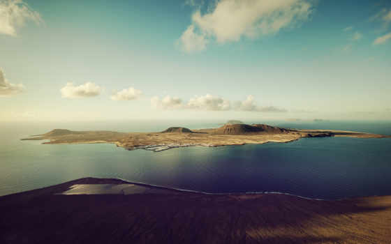 качество, free, взгляд, landscape, fonwall, собранный, другие, остров