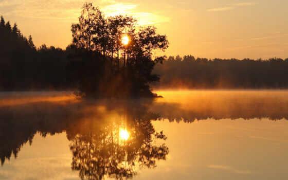 коллекция, отражение, смотреть, закат, user, рассвет