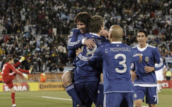 победа, аргентина, месси, футбольные, картинка,