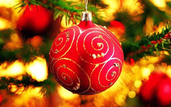 год, new, christmas