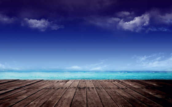 asus, stock, fonepad, море, пирс, небо, облака,