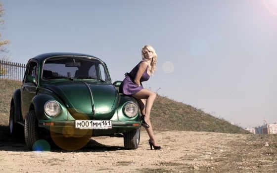 volkswagen, жук, авто