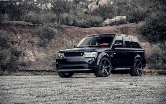 rover, range, black