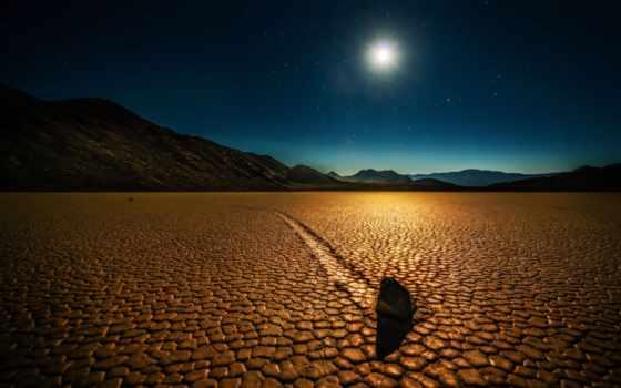 пустыня, stars, mobile, природа, планшетный, rock, небо,